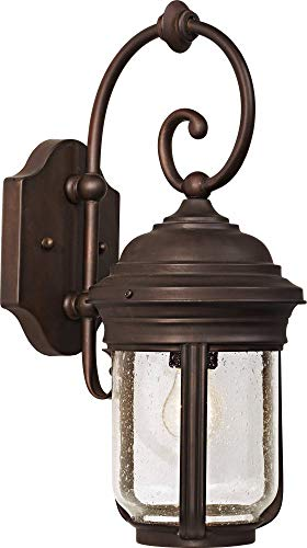 Minka Lavery Minka 8817-57 Traditional Three Light Wall Mount from Amherst Collection in Bronze/Darkfinish 3 Outdoor, Upc-747396010274 Amherst Collection 3 Light