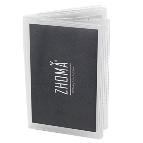 Set of 2 - 12 Pages Replacement Insert For for Bifold or Trifolds Wallet - Picture or Card - Men Picture