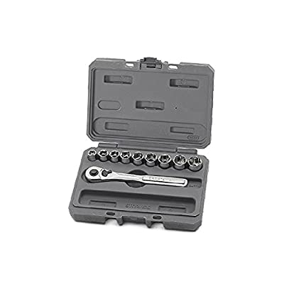 Craftsman 10 pc., 6 pt. 3/8 in. Drive Standard Socket Wrench Set: Home Improvement