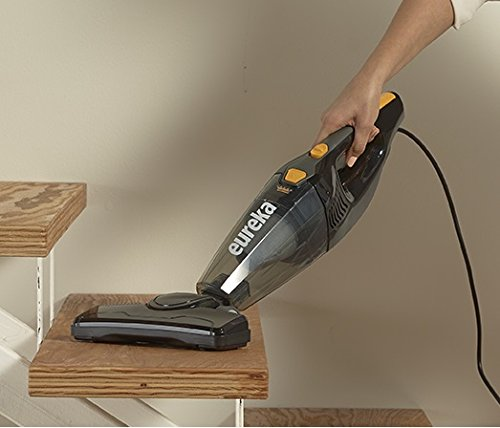 Eureka Blaze Stick Vacuum Cleaner, Powerful Suction 3-in-1 Small Handheld Vac with Filter for Hard Floor Lightweight Upright Home Pet Hair, 1-(Pack), Dark Black