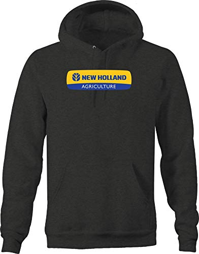 Moon Inc New Holland Tractor Farming Agriculture Hooded Sweatshirt - XLarge from Moon Inc
