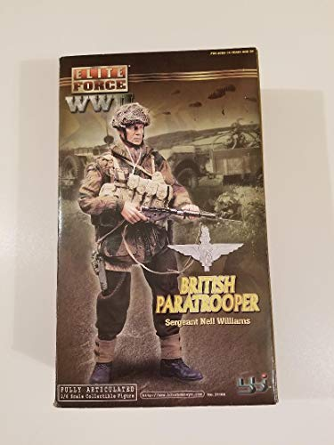 (BBI - Elite Force WWII British Paratrooper Sergeant - Neil Williams - 1/6 Scale (12 inch) collectible figure )