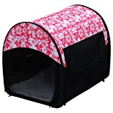 Kyjen Outward Hound Mobile Home Crate, Hibiscus, 24 x 19.75 x 18-Inches, My Pet Supplies
