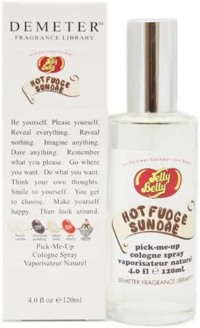 Jelly Belly Hot Fudge Sundae By Demeter For Women. Jelly Belly Cologne Spray 4.0 Oz