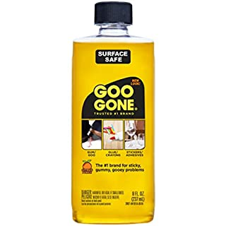"Goo Gone 2087 original Cleaner, Citrus Scent, 8oz Volume, 8 fl. oz., 7.75"" Height, 6.25"" width (Pack of 12)"