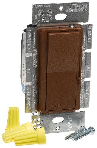Lutron DVSC-600P-SI Diva 600W Single Pole Dimmer Sienna