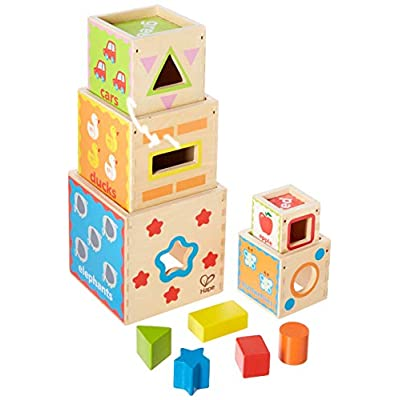 Hape Kid's Pyramid of Play: Toys & Games