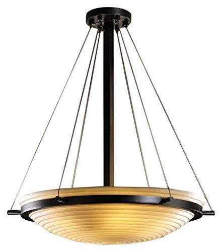Justice Design Group Lighting PNA-9691-35-SAWT-MBLK-LED3-3000 Porcelina-Ring 21
