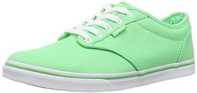 Vans W ATWOOD LOW (CANVAS) SPRING - Zapatillas de lona mujer, Verde (