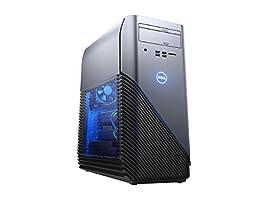 2018 Premium Dell Inspiron 5675 Gaming Desktop, AMD Ryzen 7 1700X Up to 3.8GHz 8GB DDR4 1TB HDD DVDRW 4GB AMD Radeon RX 570 MaxxAudio 802.11ac HDMI USB Type-C Win10-Recon Blue (Certified Refurbished)