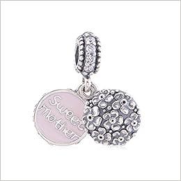 Amazon.com: Christmas Gift Fits Pandora Bracelet New 925 Silver ...