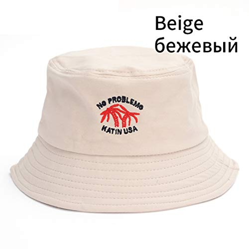 (Spring Summer Bucket Hat for Women Men Trendy Solid Sun Hat Japanese Travel Foldable Beach Hat Casual)
