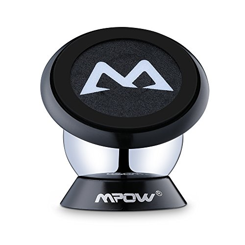Amazon Lightning Deal 81% claimed: Magnetic Mount Holder, Mpow 360 Degree Rotatable Sticky Dashboard Magnetic Mini Car Phone Mounts Holder Universal Cell Phone Holder GPS Car Mount Phone Cradle for iPhone 6s/SE/Plus, Samsung S7 Edge S6 and Other Smart...