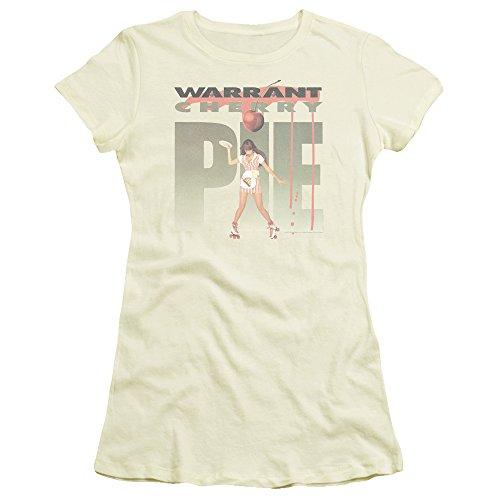 (Warrant Cherry Pie Album Women's Sheer Fitted T Shirt)
