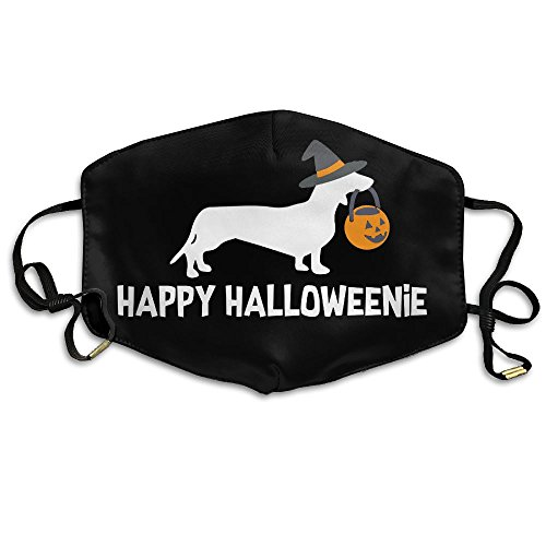 Jenpoju Dachshund Halloween 2017 Anti Dust Anti Pollution Face Mask Suitable For Men Women ()