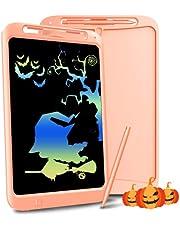 Richgv Kleurrijke Lcd-schrijftablet, 12 Inch Digitale Ewriter Met Schrijfpen, Elektronische Grafische Tekentablet Draagbare Doodle Met Geheugenslot Geschikt Voor Kinderen Vanaf 3 Jaar