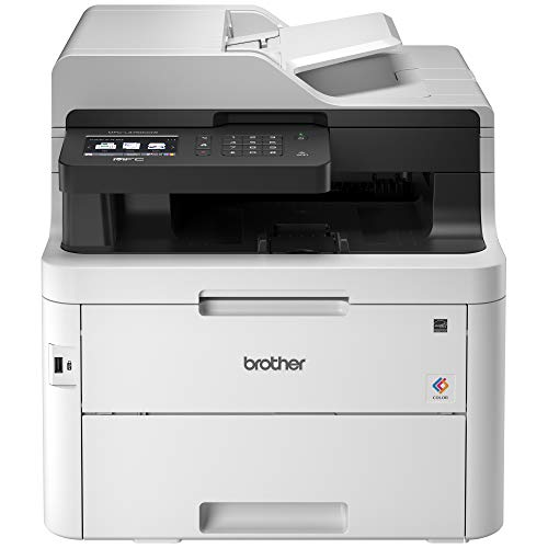 Brother MFC-L3750CDW Digital Color All-in-One Printer, Laser Printer Quality, Wireless Printing, Duplex Printing, Amazon Dash Replenishment Enabled ()