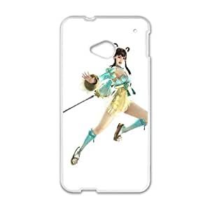 HTC One M7 Cell Phone Case White chai lei ia soulcalibur v Popular games image WOK1050990