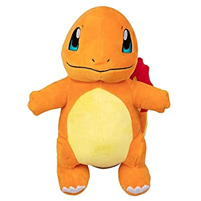 Pokemon 95226 8 INCH Plush-Charmander, NO Colour: Toys & Games