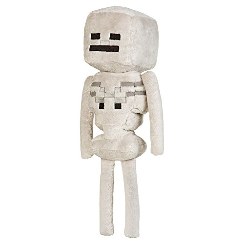 "JINX Minecraft Skeleton Plush Stuffed Toy (White, 12"" Tall) from JINX"