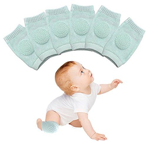 Baby Knee Pads, 3 Pairs Baby Crawling Anti-Slip Knee, Toddlers Knee Protector