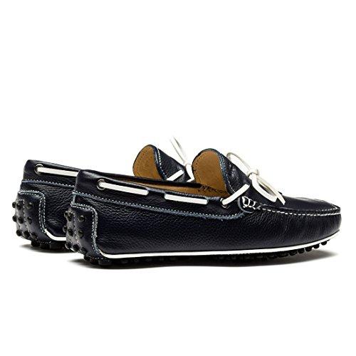 Opp Designer Chaussures À Lacets Chaussures Fashion Hommes Flats Slip-on Mocassins 2016 Collection Noir
