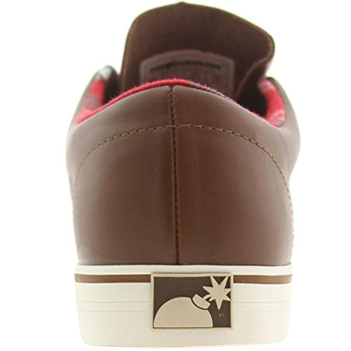 The Hundreds Johnson Low - Weatherproof Pack (dark brown / premium leather) myP44uDsY