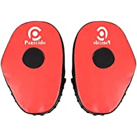 Parecido PVC Pro Style Straight Unisex Boxing Focus Pads (Red & Black)