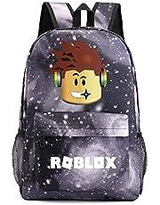 ACMEDE Roblox schooltas reisrugzak kleuterschool schattige kinderen cartoon schooltas grote capaciteit rugzak kinderen rugzak voor jongen en meisje
