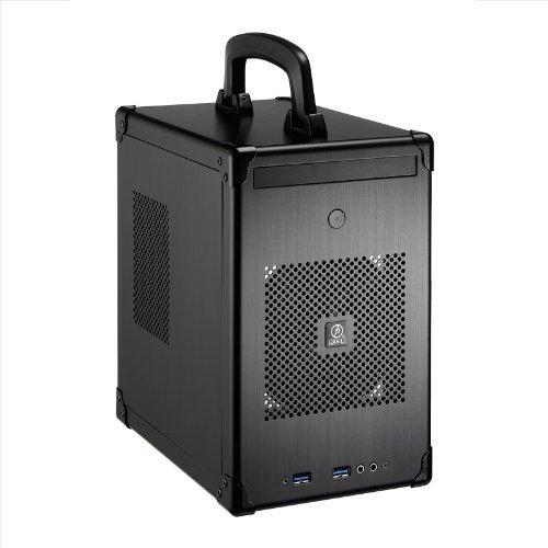 Lian-Li Case PC-TU100B Mini Tower 2.5inch x2 HDD Mini-ITX Mini-DTX USB3.0 Black Retail (Lian Tu200 Li)