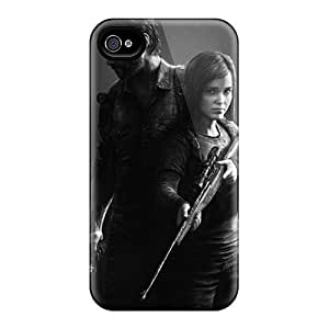Shockproof Hard Phone Cover For Iphone 4/4s (mfI8849HrKZ) Custom HD The Last Of Us Video Game Skin