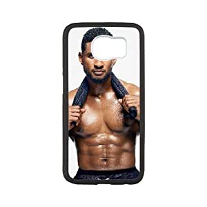 Usher Samsung Galaxy S6 Cell Phone Case White JU0980782