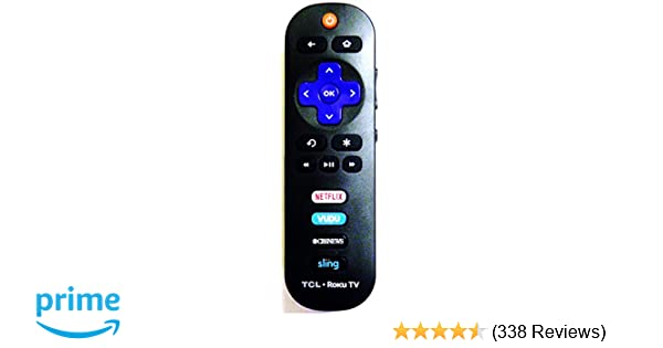 Amazoncom Tcl Rc280 Replacement Remote For Roku Tv Electronics