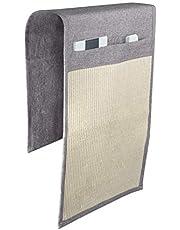 Supremery Mata do drapania dla kota - sizalowy dywan do drapania 130 x 45 cm dla kota - kanapa mata do drapania - z 2 przegródkami