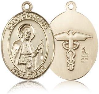 14カラットゴールドセントカミロス・オブ・レリスメダル