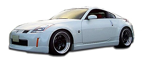 Side Skirt Kit (Nissan 350Z 2003-2008 ING Style 2 Piece Polyurethane Side Skirts manufactured by KBD Body Kits. Extremely Durable, Easy Installation, Guaranteed Fitment and Made in the USA!)