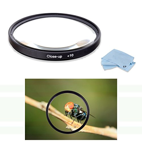 High Definition 77mm +10 Macro Close Up Filter for Sony SAL-135F18Z 135mm f/1.8 Carl Zeiss Sonnar T Telephoto Lens & Sony SAL-70400G2 70-400mm F4-5.6 G SSM Super Telephoto Zoom Lens -  Eternal Photo, EP-MACROCLOSEUP7718-061918