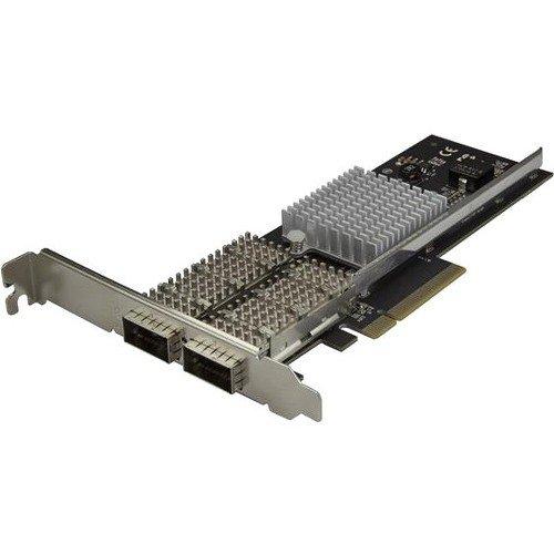 StarTech.com PEX40GQSFDPI Dual Port QSFP+ Server NIC Card, Intel XL710 Chip, 40gb, PCIe Card, Network Interface Card by StarTech