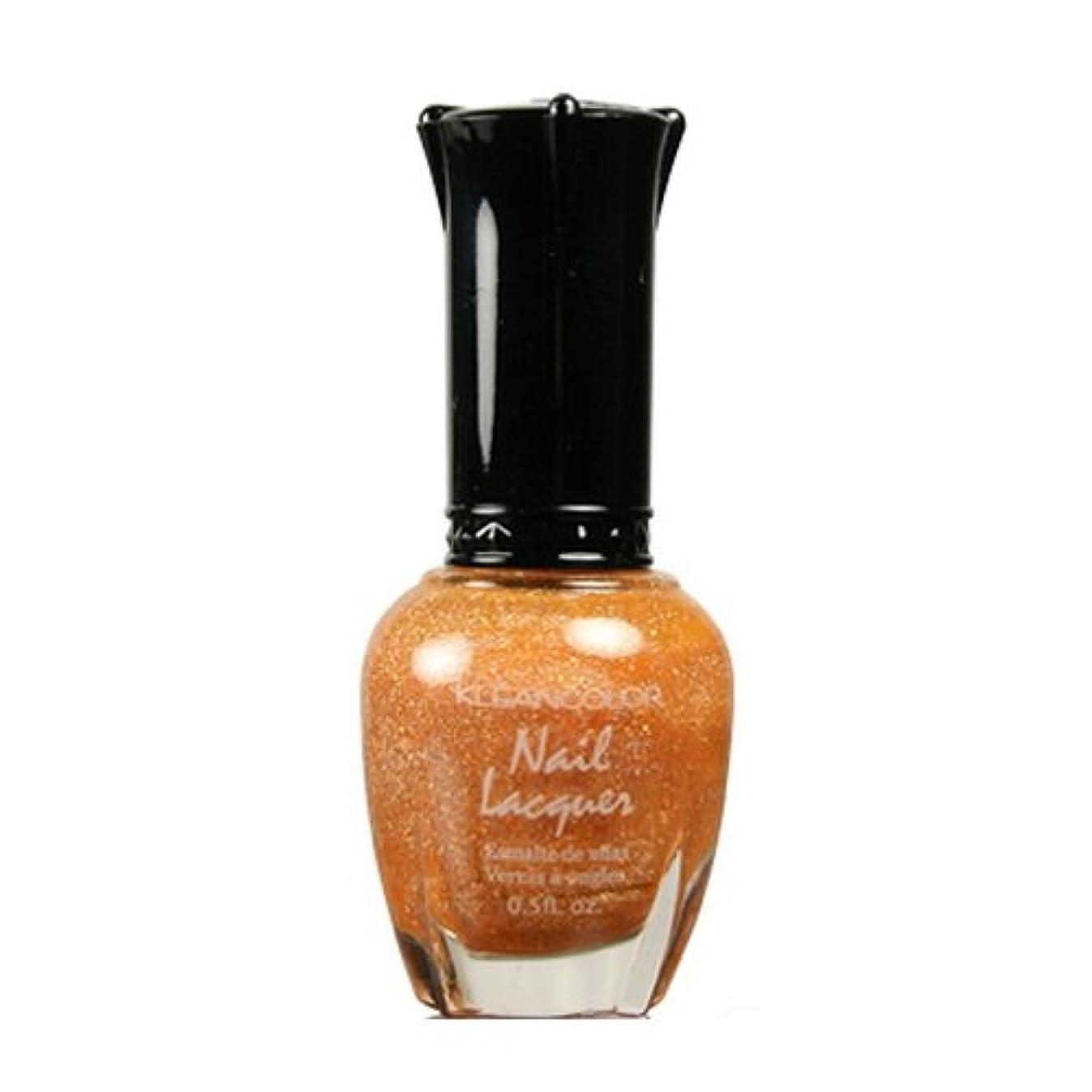 パス変わる民兵(3 Pack) KLEANCOLOR Nail Lacquer 3 - Holo Orange (並行輸入品)