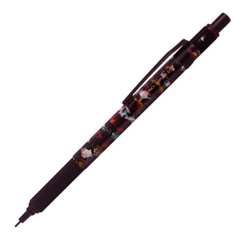 miko-fancy-mit-5000-05mm-mechanical-pencil-marble-pattern-red