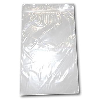 Amazon.com: 100 bolsas de polietileno con cierre resellable ...