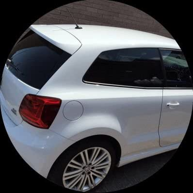 StickersLab Pellicola Oscurante AntiGraffio per vetri Auto VLT 50/% Nero 50cm x 300cm 50cm x 300cm