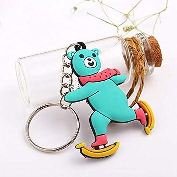 Kawaii llave de silicona suave de dibujos animados Cadenas ...