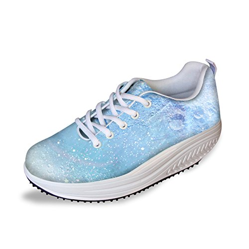 Lace Platform Swing Wedges Flexible Heels CHAQLIN Rocking Cc03a Thick Ups Fashion Women's Sneakers Shoes Pq44ngY