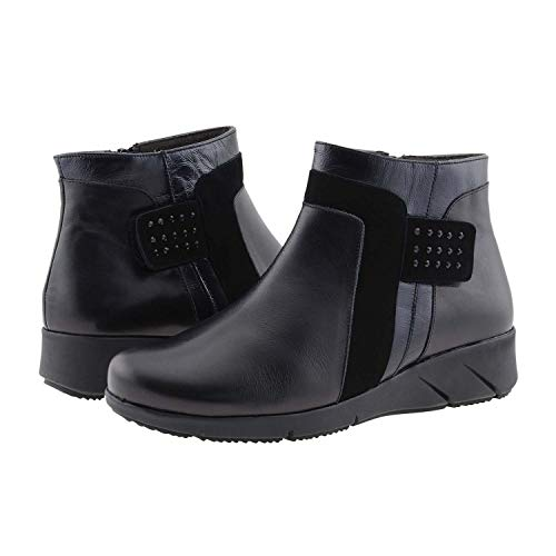 Cutillas Alonso Stivali Paula pelle in Black n6USXZ
