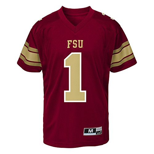 NCAA Florida State Seminoles Youth Boys Fashion Football Jersey, M(10-12), Garnet