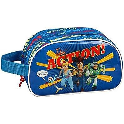 Toy Story 4 Neceser, Bolsa de Aseo Adaptable a Carro