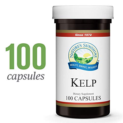 Nature's Sunshine Kelp, 100 Capsules | Naturally Contains Trace Minerals, Supports Glandular Health, Aids Metabolism and Energy Levels
