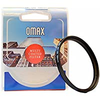 Omax 58mm Multi-Coated UV Filter for Canon eos 200D,1300D,1500D,700D with EF-S 55-250 is STM