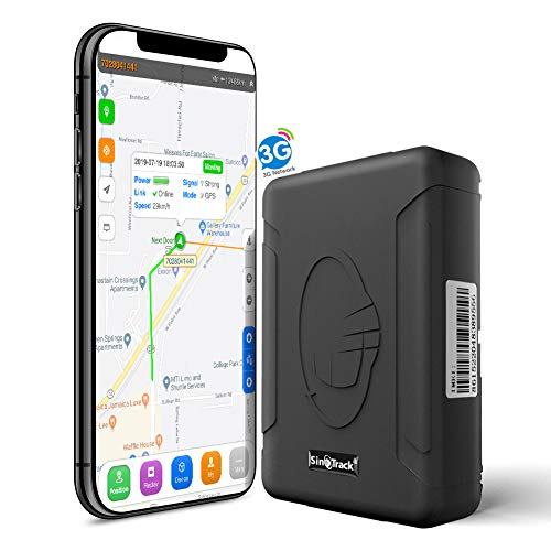 SinoTrack GPS Tracker ST-915W 3G Strong Magnet Tracking Device Locator for Vehicles, Waterproof Real-Time Car GPS…